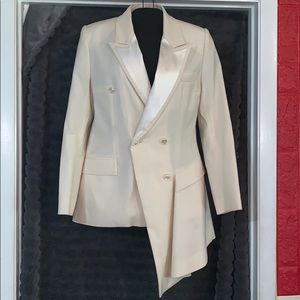Givenchy woman tuxedo